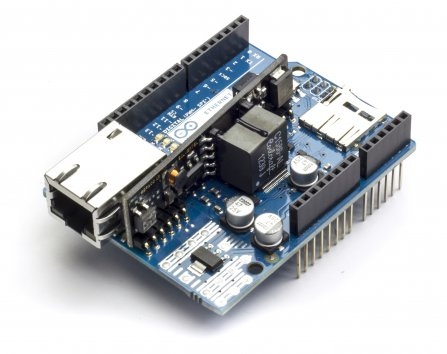 Arduino Ethernet Shield - DEV-09026 - SparkFun Electronics